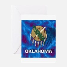 Oklahoma State Flag Greeting Cards