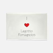 I love Lagotto Romagno Rectangle Magnet (100 pack)