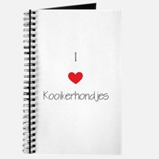 I love Kooikerhondjes Journal