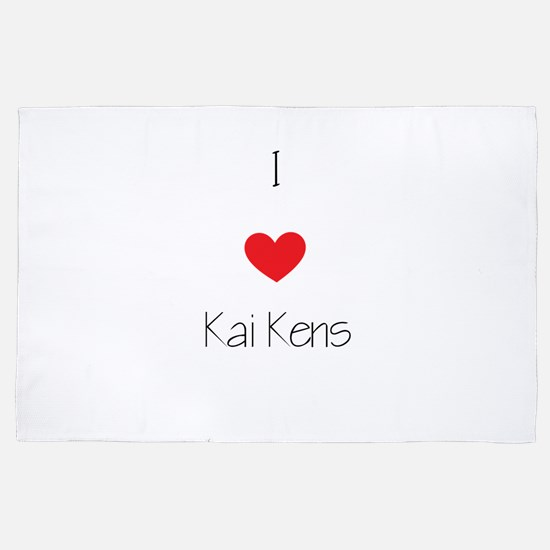 I Love Kai Kens 4' X 6' Rug