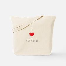 I love Kai Kens Tote Bag