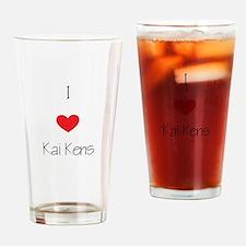 I love Kai Kens Drinking Glass