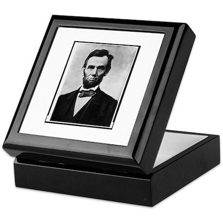 Honest Abe - Abraham Lincoln Keepsake Box