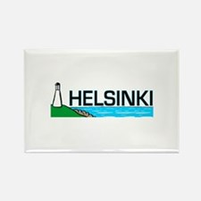 Helsinki, Finland Rectangle Magnet