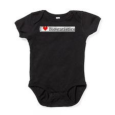 Funny Heart Baby Bodysuit