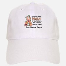 For Fighters Survivors Taken Uterine Cancer Baseball Baseball Cap