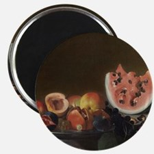 Still Life With Fruit, del Saracini Magnet