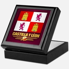 Castilla Y Leon Keepsake Box