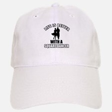 Square Dancer Designs Baseball Baseball Cap