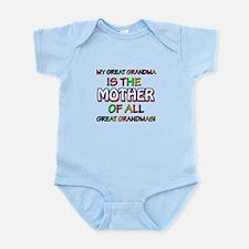 Funny Great Grand Ma family design Infant Bodysuit
