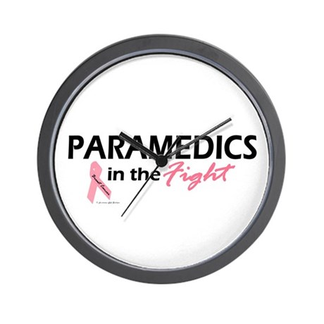 Paramedics In The Fight Wall Clock