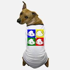 Warhole Pandas Dog T-Shirt
