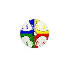 Warhole Pandas Mini Button