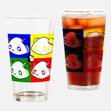 Warhole Pandas Drinking Glass