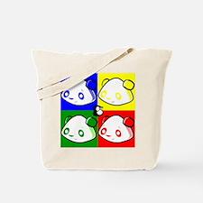 Warhole Pandas Tote Bag