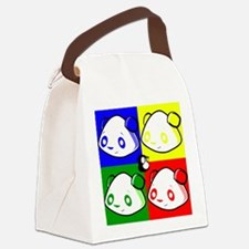 Warhole Pandas Canvas Lunch Bag