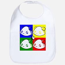 Warhole Pandas Bib