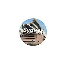 Sydney: Opera House Mini Button