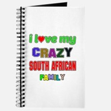 I love my crazy South African family Journal