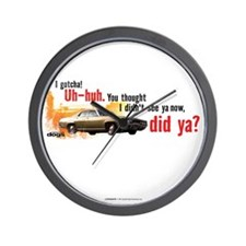 I Gotcha Wall Clock