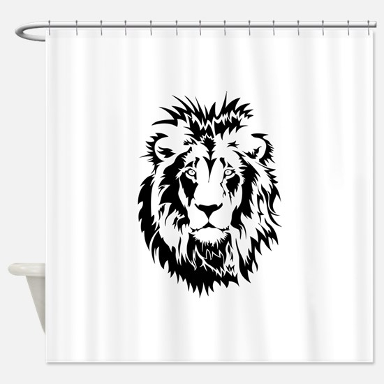 Lion Shower Curtain