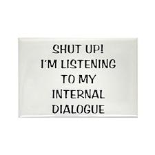 Internal Dialogue Rectangle Magnet