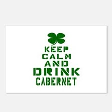 Keep Calm and Drink Caber Postcards (Package of 8)