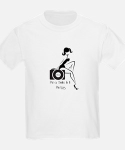 Put a Smile In It Pin Ups T-Shirt