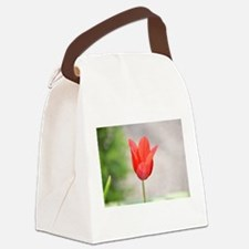 Spring Blooms Canvas Lunch Bag