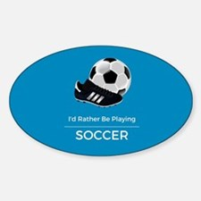 Soccer Quote Decal