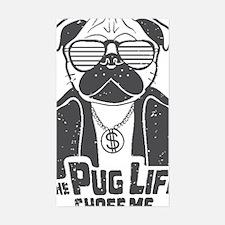 Unique Pug life Decal
