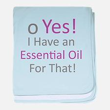 Essential Oils baby blanket