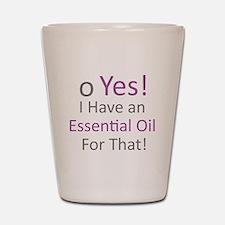 Essential Oils Shot Glass