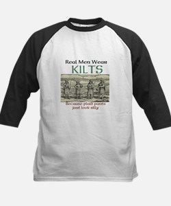 Real Men Wear Kilts Baseball Jersey