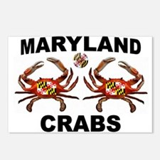 MARYLAND CRABS Postcards (Package of 8)