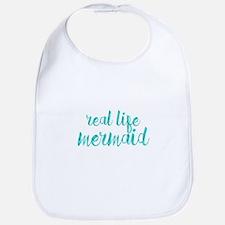 real life mermaid Bib