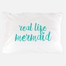 real life mermaid Pillow Case