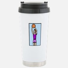 girl basketball Travel Mug