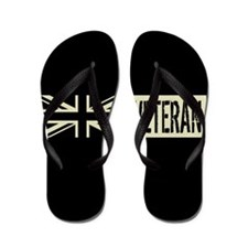 British Veteran Black Military Union Ja Flip Flops