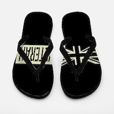 British Veteran Black Military Union Ja Flip Flops