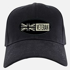 British Military: Veteran (Black Flag) Baseball Hat