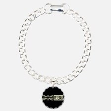 British Military: Vetera Charm Bracelet, One Charm
