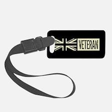 British Military: Veteran (Black Luggage Tag