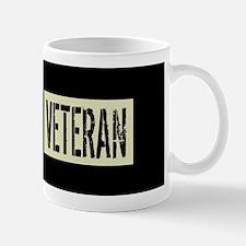 British Military: Veteran (Black Flag) Mug