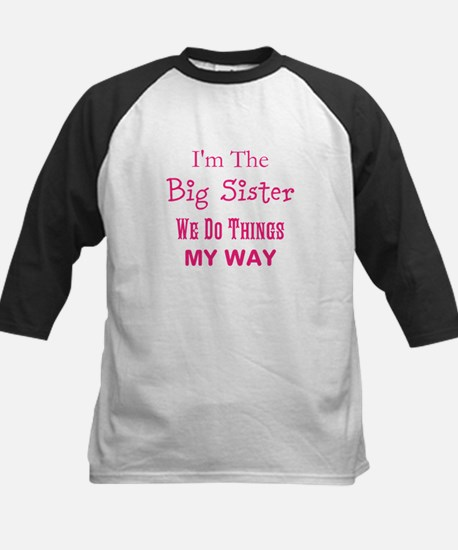 Im The Big Sister Baseball Jersey