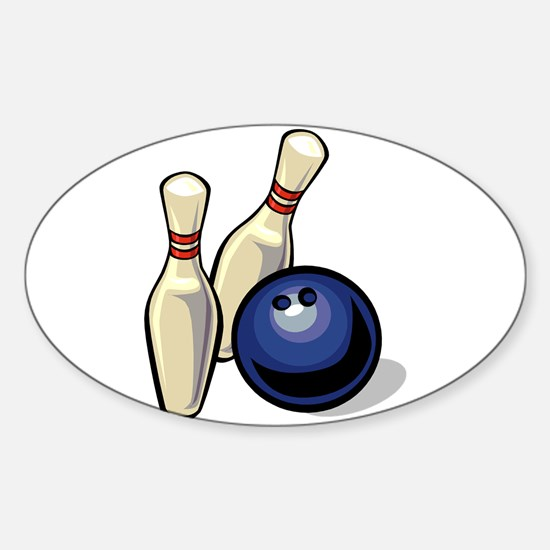 Bowling ball with pins.png Decal