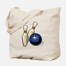 Bowling ball with pins.png Tote Bag