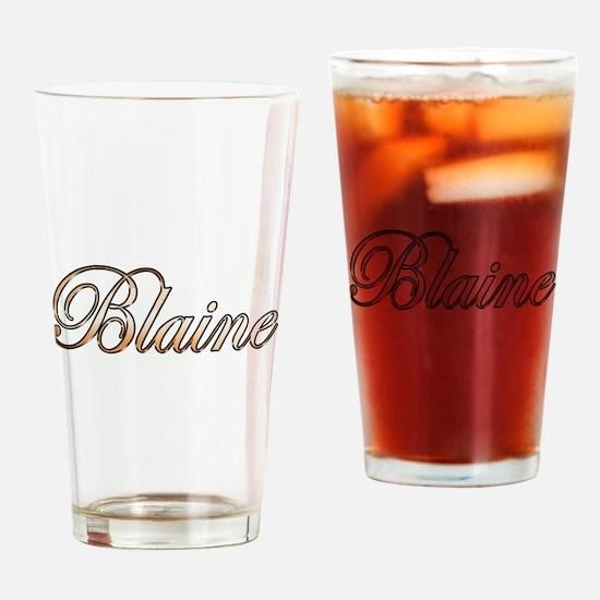 Cute Blaine Drinking Glass