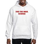 End the War, George Hooded Sweatshirt