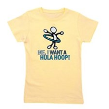 Hula hoops Girl's Tee
